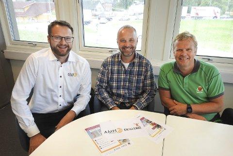 Bjørn Gunnar Standal Darre, Svein Erik Vatle og Kent inge Moum legger ned Brotorvetrittet i år, men starter Amfi Challenge i fullskala fra neste år.