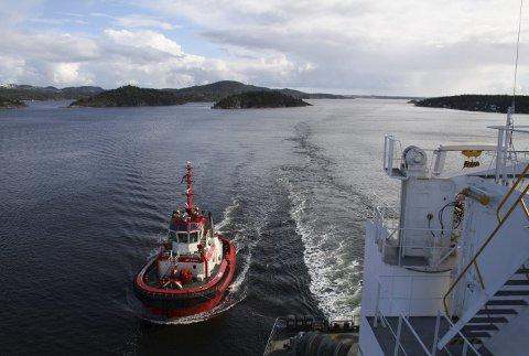 Farleden for skipstrafikken i Grenland skal utdypes.