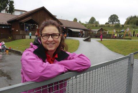Elin Aasheim driver Nystrand barnehage, som hun bygget i 2009.