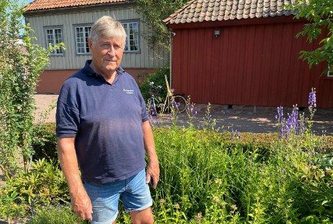 Leder: Haavard Gjestland er leder i museumsstiftelsen.