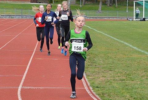Første mil: Malin Søtorp Solberg løp 10 kilometer i konkurranse for første gang under Hytteplanmila. (ARKIVFOTO)