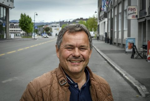 Utbygging: Bård Sandberg er ansatt som utbyggingssjef for den nye flyplassen i Mo i Rana. Foto: Øyvind Bratt