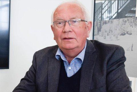 KRITISK: – Jeg mener primært at KrF burde holde seg utenfor regjeringen slik situasjonen var, sier gruppeleder Arnfinn J. Holten i Ringerike KrF.