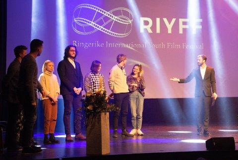 Internasjonalt: Unge filmskapere fra mange land ble presentert.