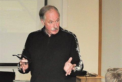 DEBATT: «Norsia tenker tanker» inviterte til debatt med Johan Kaggestad i Bassgarasjen. Nå er arrangementet avlyst.