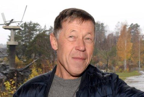KRIMFORFATTER: Ole J. Andersen har igjen begått en krimbok.