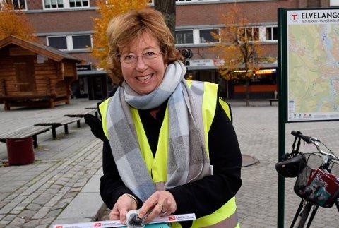 GLEDER SEG: Inger Kammerud blir koordinator for Interkommunalt politisk råd (IPR) for Ringeriksregionen.