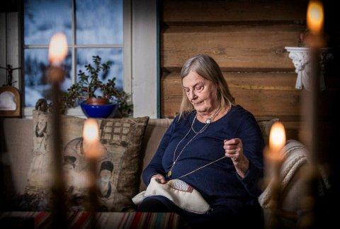 NY UTSTILLIING: Borgny Svalastog har gjennom 40 år skapt unike og nyskapende verk. Lørdag åpner en støre utstilling med hennes arbeider på Telemarksgalleriet. Utstillingen vil vises fram til 9.mai.