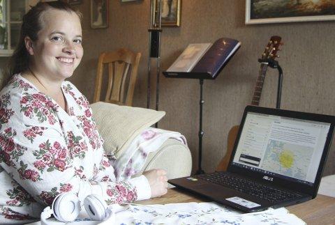 Gener utenfor Norges grenser: Elisabeth Kopperud sendte inn en spyttprøve for å kartlegge genene sine.Foto: stine C. Granlund
