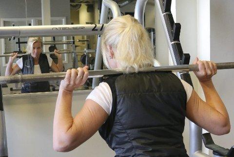 En del av hverdagen: Trening har blitt en del av hverdagen for Stine Banggren. Hun har hatt en tung vei tilbake til et lettere liv. Begge foto: Hege Frostad Dahle