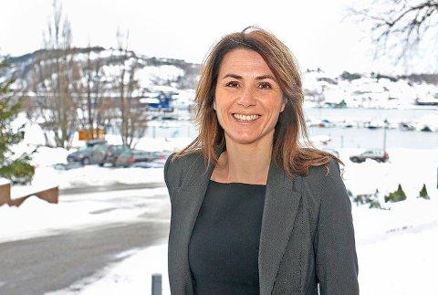 GRÜNDER: Cecilie Sælen etablerte Ocean Maxwell for fem år siden. I fjor ble selskapet kåret til Vestfolds femte beste gasellebedrift.