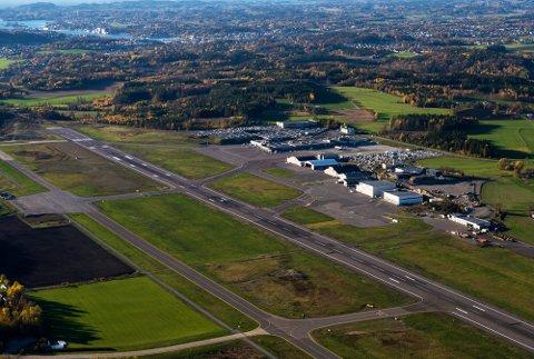 NY REKORD: Nesten 2,1 millioner brukte Torp som flyplass i 2018.