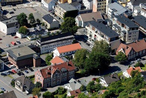 SKAL UTVIKLES: Det tidligere kvinnefengselet i Sandefjord er nå registrert solgt for 10,6 millioner kroner.