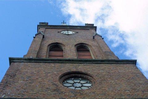 PÅ BESØK: En 43 år gammel mann utløste alarmen i Sandnes kirke rundt klokken 03.10 natt til tirsdag.