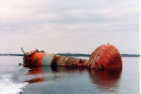 Boligplattformen Alexander Kielland kantret 27. mars 1980 og 123 mennesker mistet livet.