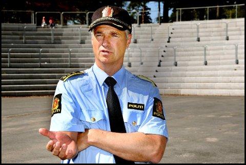 Må ikke til Sarpsborg: I mange saker kan man levere en forenklet anmeldelse på nett, sier Kjetil Lunde, leder for nærpolitiet ved Sarpsborg politistasjon.