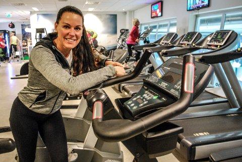 UTVIDER: Marianne Wiese ser fram til at Family Sports Club på Grålum kan utvide og tilby medlemmene bedre fasiliteter.