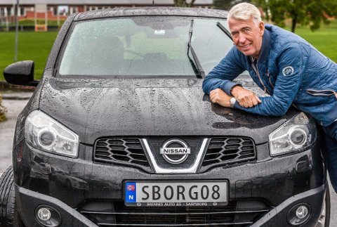Bilskiltene alle fotballentusiaster i Sarpsborg drømmer om – SBORG08.