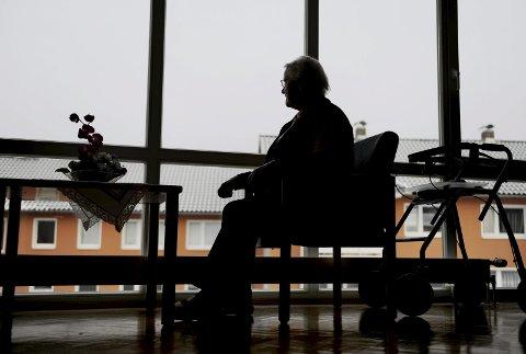 STRID: Eldreomsorg vil garantert bli en het potet i valgkampen om et år. FOTO: NTB scanpix
