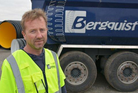 Thomas Tørnby er prosjektleder for Bergquist Maskin og Transport as