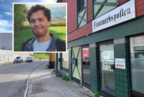 KLAR FOR HONNINGSVÅG: Mathias Karlsen Bratli ser frem til å bosette seg og jobbe på Magerøya i Nordkapp kommune.