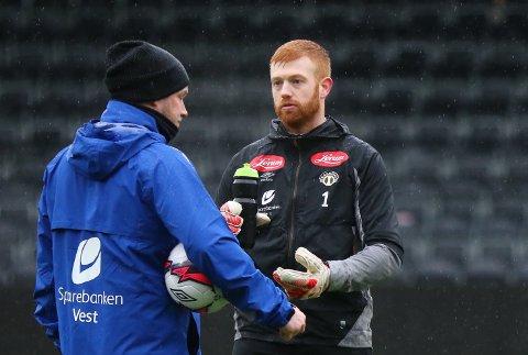 NY SJEF: Renze Fij (28) er den nye keeperen til Sogndal, og er klar for å ta på seg si sjefsrolle i laget.
