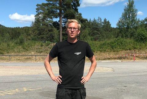 BEKYMRET: David Nordgård i NMK Grenland liker ikke den økonomiske situasjonen i klubben.