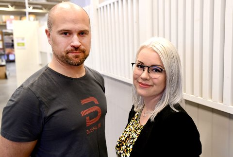 SUSTE INN: Tommy Ballestad og Mari Byberg Knudtsøn er begge innn i bystyret i Skien og Porsgrunn.