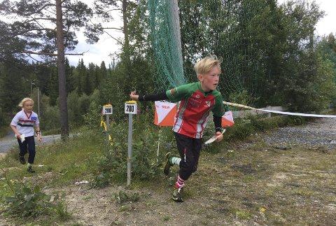 Vant alt: Rasmus Engehult (H10) (bildet), Synne Sandven (D12) og Åsmund Slokvik (H16) vant like godt sine klasser alle tre dagene!