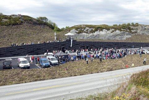 Eldhusøya på Atlanterhavsveien kan vinne arkitekturpris.