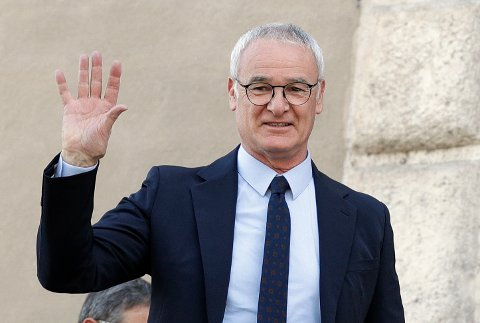 Claudio Ranieri leder Fulham mot Manchester United lørdag.