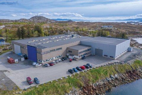VEKST: Verftet Promek AS på Smøla har passert 100 millioner i omsetning for første gang.