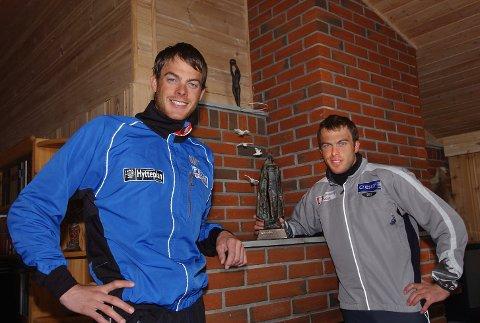 FLEIP ELLER FAKTA?: Jørgen Aukland (venstre) har vunnet Vasaloppet flere ganger enn storebror?