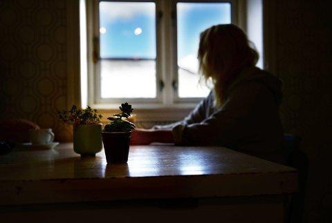 PREGET: Det tok mange år før «Mia» innså at hun hadde opplevd flere overgrep som 14-åring. Nå blogger hun opplevelsene sine.