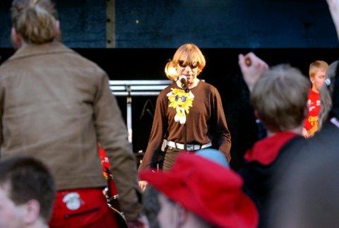 MESSA: Tønsbergmessen åpnet med Jahn Teigen-konsert i 2003.