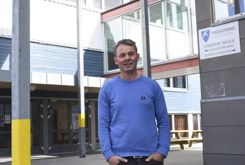 Oddvar Haslemo er rektor på Lyngmyr skole. Han forteller at skolen har gjort noen grep de siste årene for blant annet å styrke læringsmiljøet for elevene. Arkivfoto