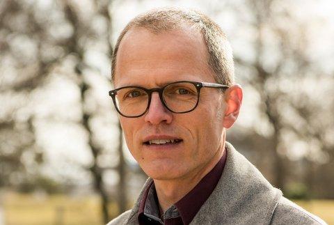 Generalsekretær i Frivillighet Norge, Stian Slotterøy Johnsen.