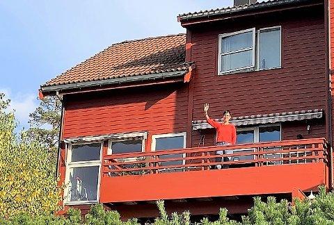 Eva Jørgensen Eide og Tore Eritsland sikret seg denne endeleiligheten i Bjørnestien 8 på Nesodden for 5.350.000 kroner.