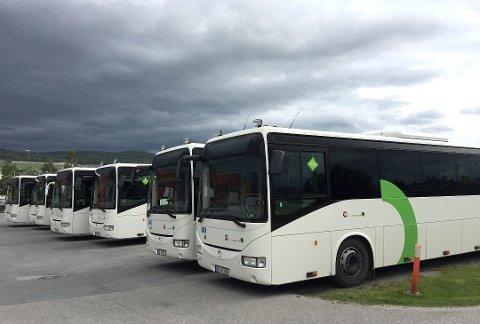 Fra mandag 24. juni skifter Hedmark Trafikk nummer på samtlige bussruter i fylket.