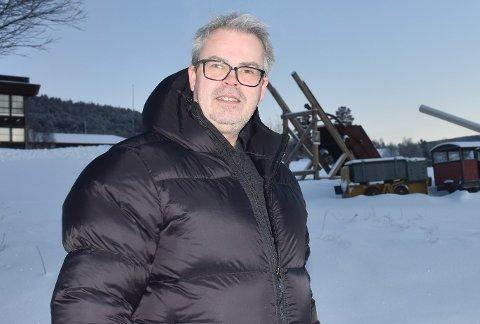 FÅTT KJENNE PÅ KULDA: Som nytilflyttet til Folldal har Jørn Aarsland fått kjenne hva som er en god kald vinter. Han er dagens gjest Over kaffekoppen.
