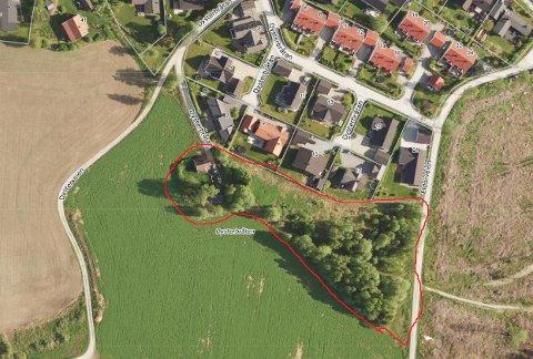 NYTT BOLIGFELT: Den tidligere husmannsplassen Sørbråtan i Ås kan bli bygget ut med nye boliger.