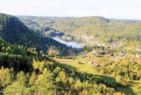 Til topps: Heiberg Opp har flere løypealternativer. Alle i naturskjønne omgivelser på Søndeled.foto: Arkiv