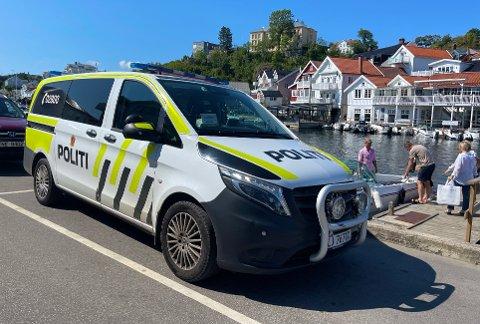 Voldsepisoden fant sted på et utested i Kragerø sentrum.