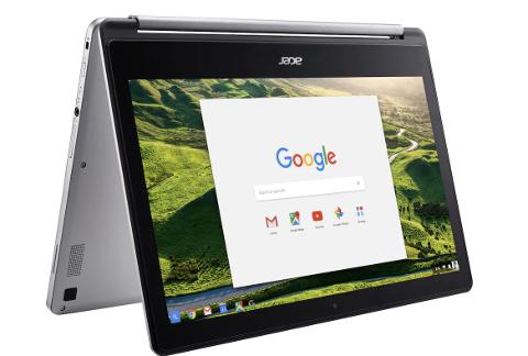 CHROMEBOOK: Skoleløsningen av Googles kontorpakker brukes på Chromebook datamaskiner som er tilpasset disse pakkene. Hidra skole og Sunde skole innfører slike løsninger i år.
