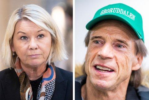 SPURT OM BILBRANNER: Jan Bøhler (Sp) ønsker svar fra justisminister Monica Mæland om hva hun synes om etterforskningen av bilbranner i Oslo.