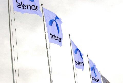 FORNEBU 20060209: Telenor byttet til ny logo på torsdag morgen. Foto: Kristoffer Nyblin Kaspersen / SCANPIX .