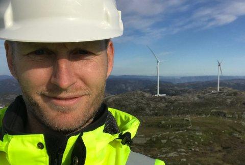 SPÅR ROLEG TIÅR: Zephyrsjef Olav Rommetveit trur ikkje det vil bli ny giv i norsk vindkraft før vi skriv 2030.