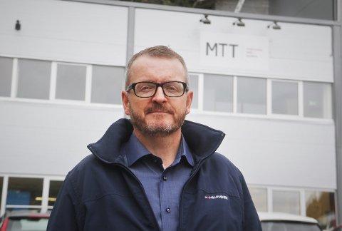 Dagleg leiar ved Mongstad Tavleteknikk, Kenneth Sjo Samuelsen.