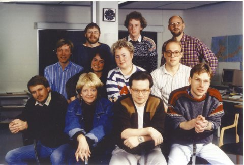 Siste kull: Her er det aller første kullet ved journalistutdanninga i Nord-Norge, tatt opp i 1987, høstens kull bør bli det siste.