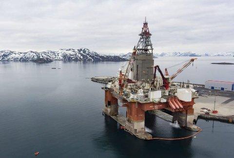 Uansvarlig: Oljeriggen Hercules skal bore for Equinor i Barentshavet, en helt uansvarlig handling fra både staten og oljeselskapene. Foto: klimasøkmål.no